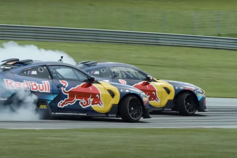 Video: Red Bull Driftbrothers burn some tires with 1,000 HP M4 Competition