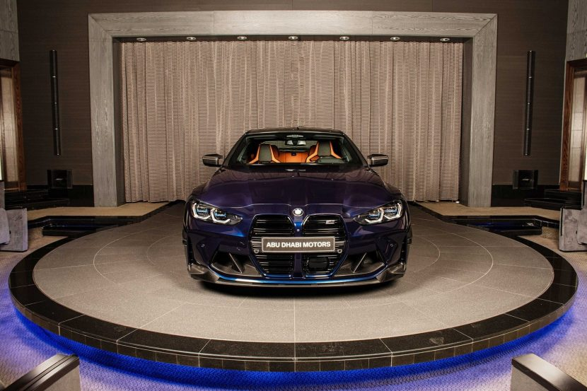 Photo Gallery: Tanzanite Blue M4 with M Performance Parts is a stunner