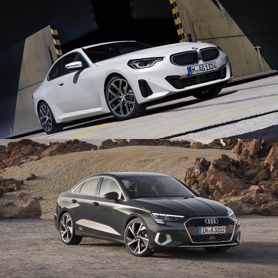 BMW 2 Series vs Audi A3 3 of 6