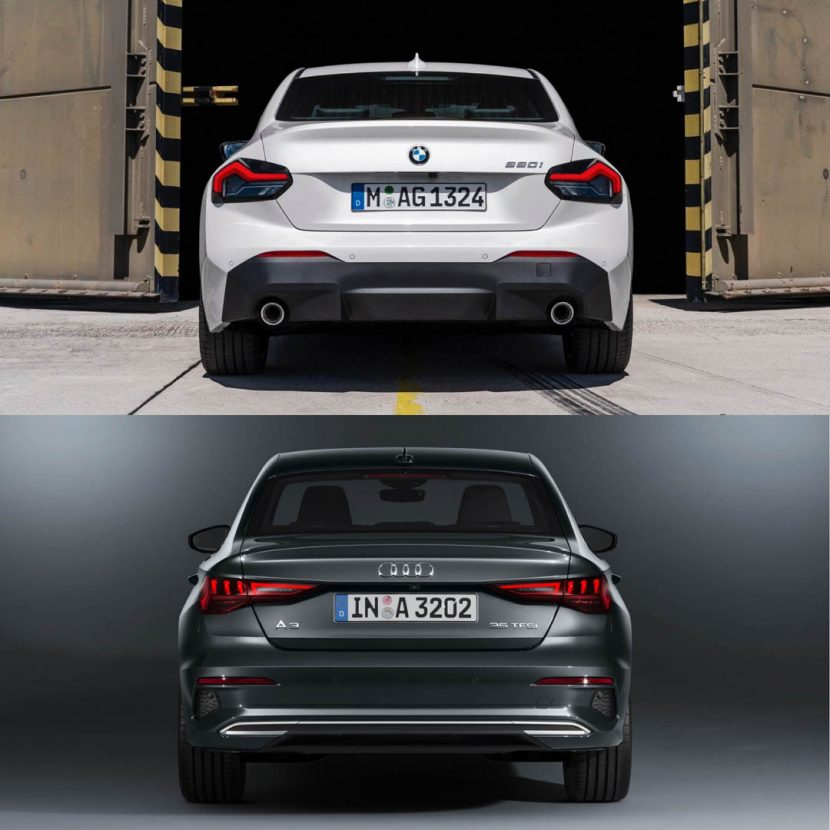 BMW 2 Series vs Audi A3 4 of 6 830x830