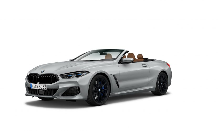 BMW 8 Series Convertible Heritage Edition in Frozen Dark Silver 830x498