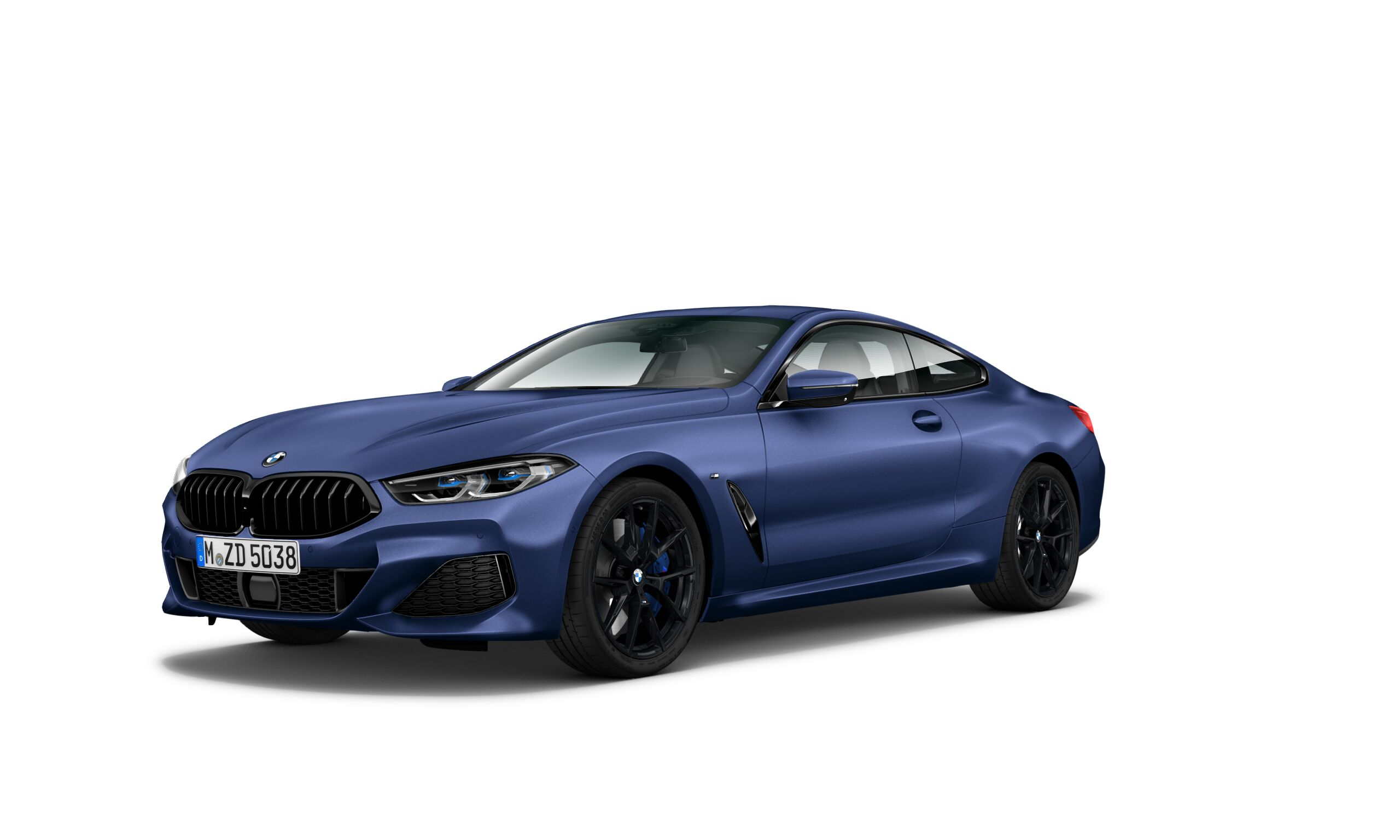 BMW 8 Series Coupe Heritage Edition in Frozen Marina Bay Blue