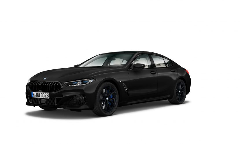 BMW 8 Series Gran Coupe Heritage Edition in Frozen Black 830x498