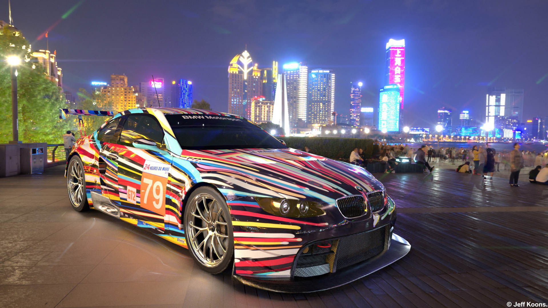 You Can Now See BMW Art Cars in the Real World with Augmented Reality