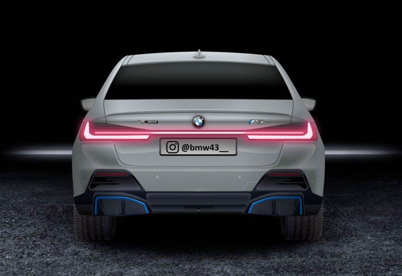 BMW i5 Render Rear 1 of 3