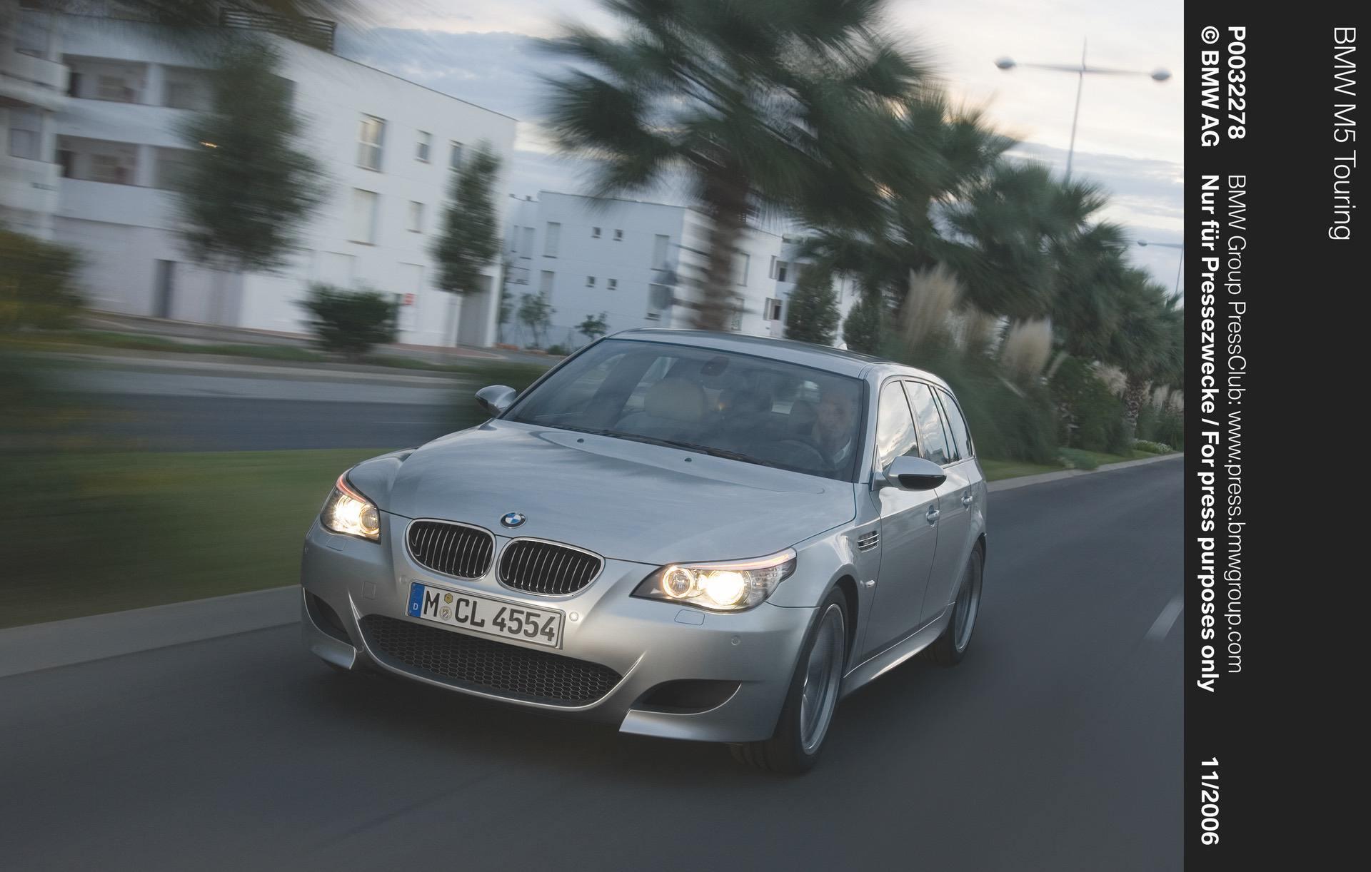 BMW E61 M5 Touring 12