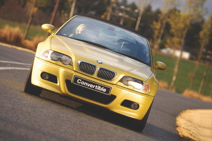 Dakar Yellow BMW E46 M3 Convertible 00 1 830x553