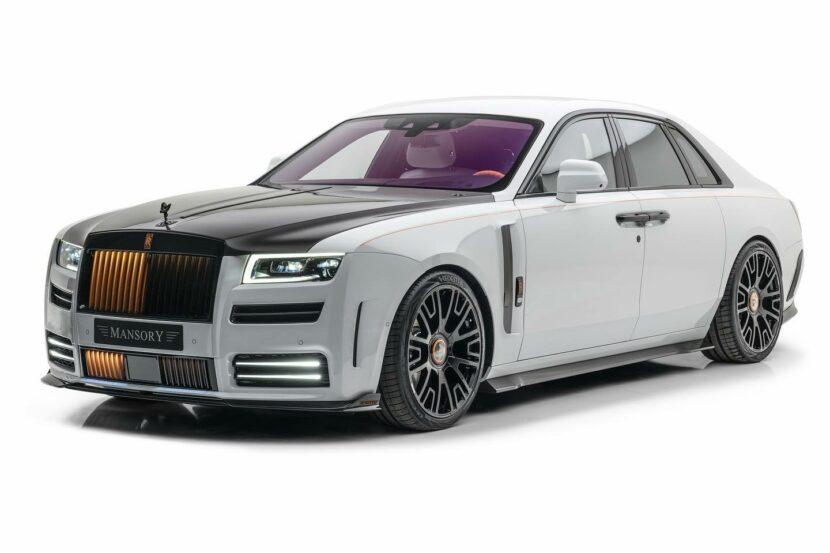 Mansory Rolls Royce Ghost 7 830x553