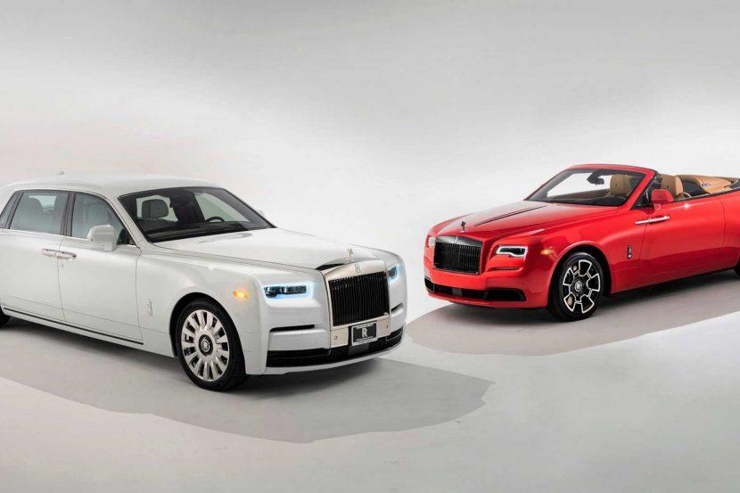 Rolls Royce Phantom Tempus Edition and Dawn 830x553