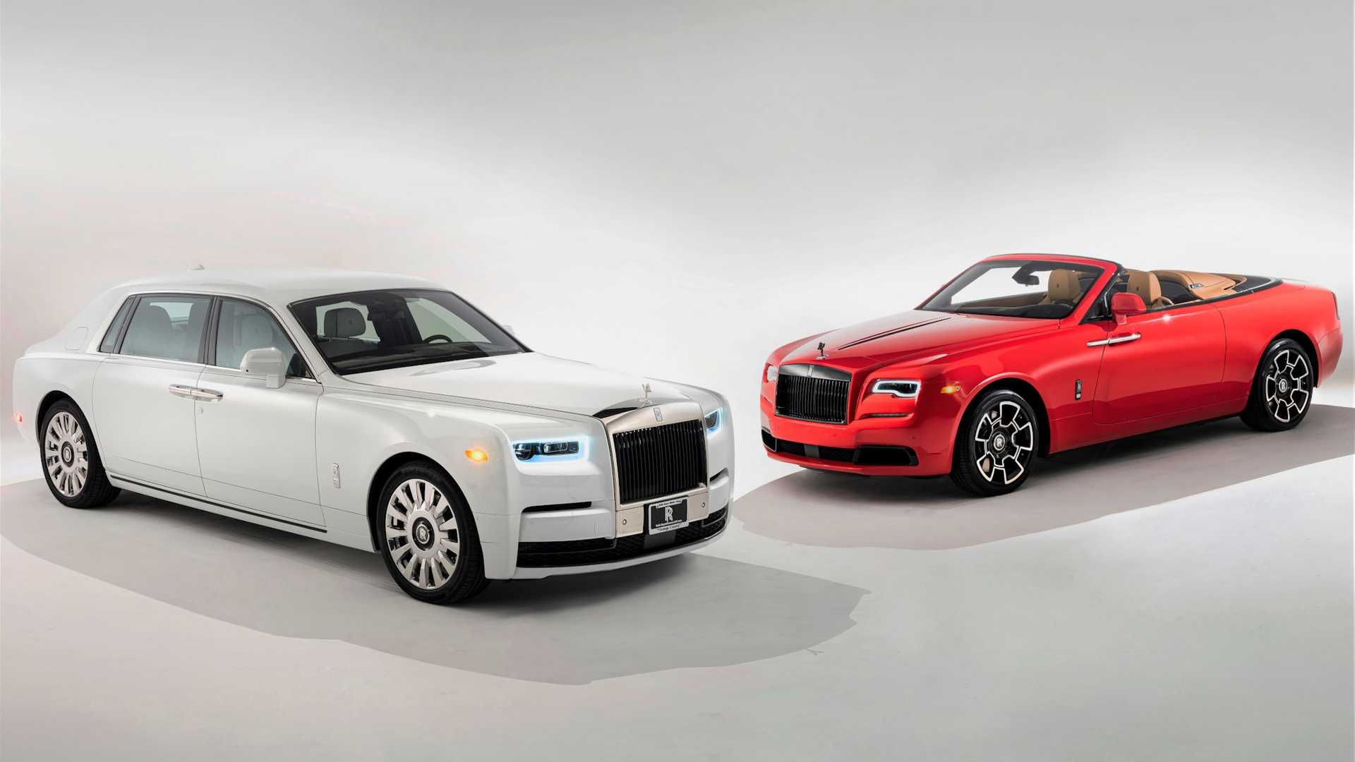 Rolls Royce Phantom Tempus Edition and Dawn