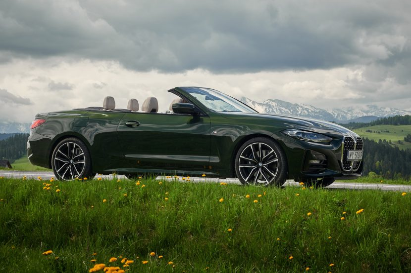 The BMW 430i Convertible G23 in Poland 11 830x553