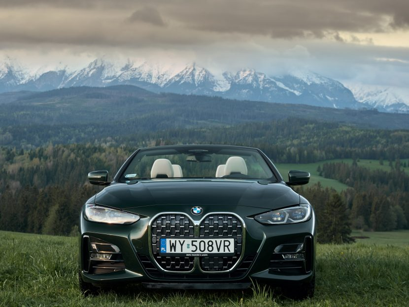 The BMW 430i Convertible G23 in Poland 17 830x623