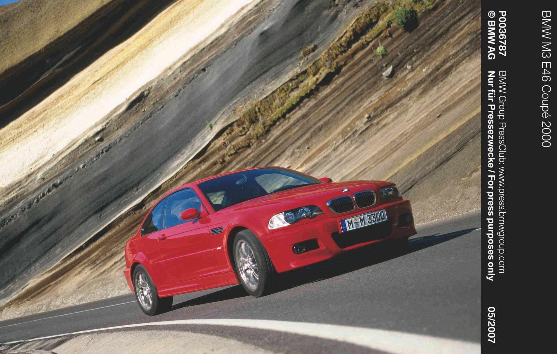 bmw e46 m3 coupe 00