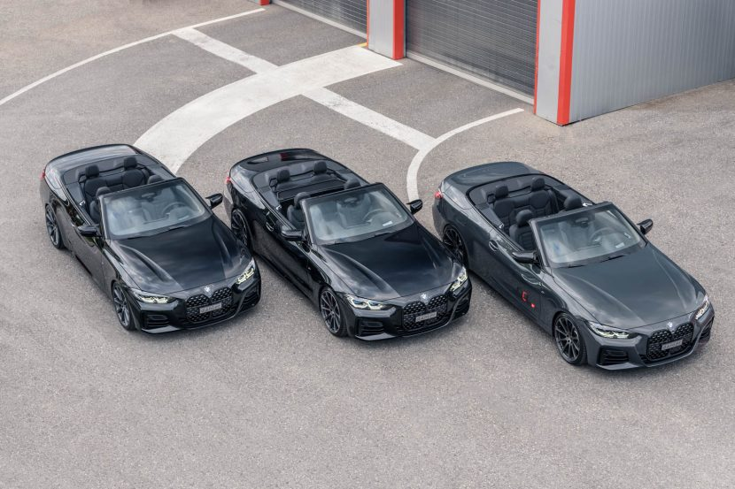 dAHler Competition Line Adds Some Sportiness to the BMW M440i Convertible