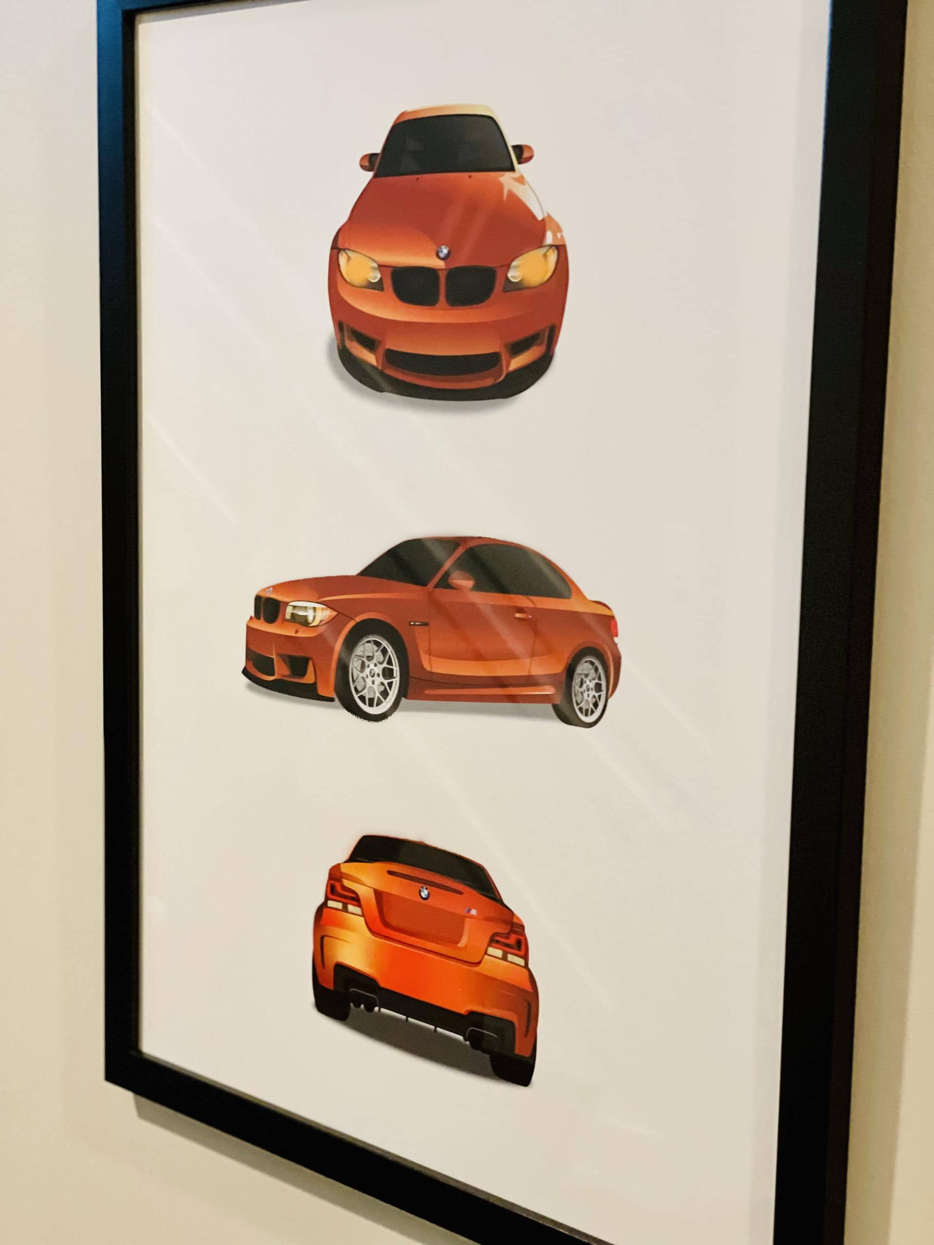 The Perfect Gift for BMW Petrolheads – Custom Artwork Of Your Own Bimmer