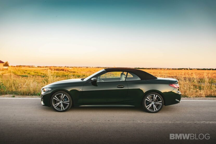 2021 bmw 4 Series Convertible review 00 830x553