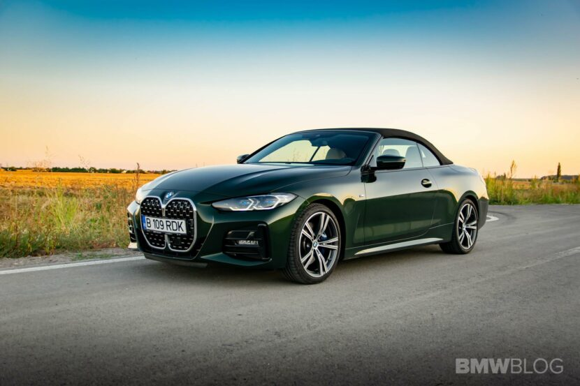 2021 bmw 4 Series Convertible review 04 830x553