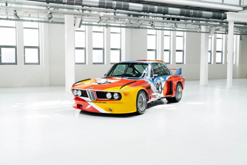 Alexander Calder Art Car BMW 3.0 CSL 48 of 55 830x553