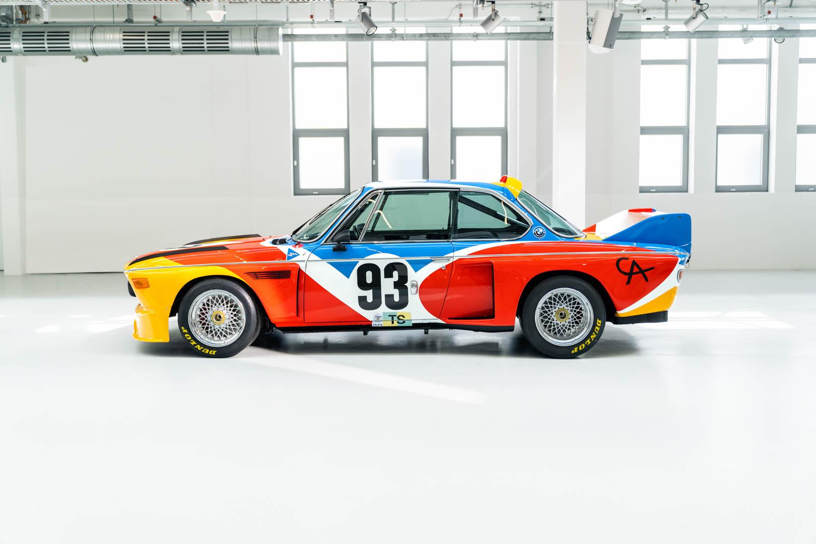 Alexander Calder Art Car BMW 3.0 CSL 50 of 55