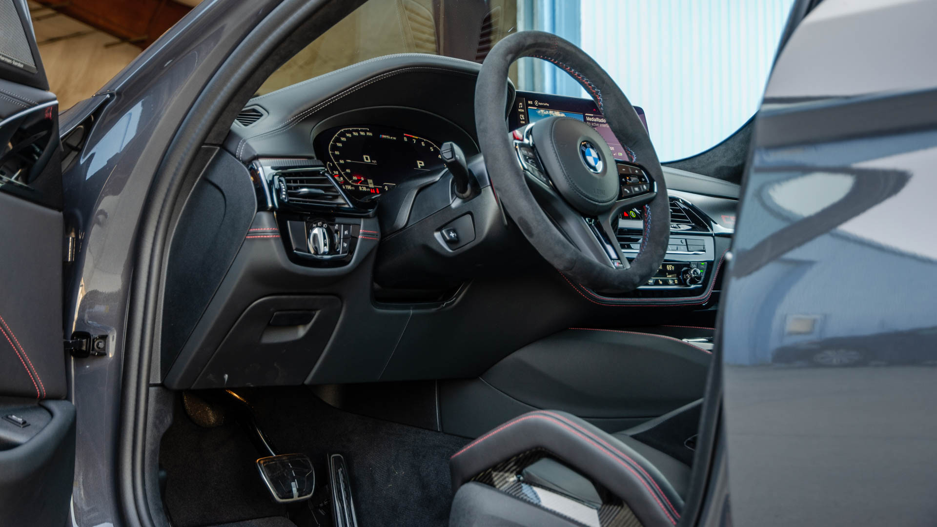 BMW M5 CS Test Drive 15 of 40