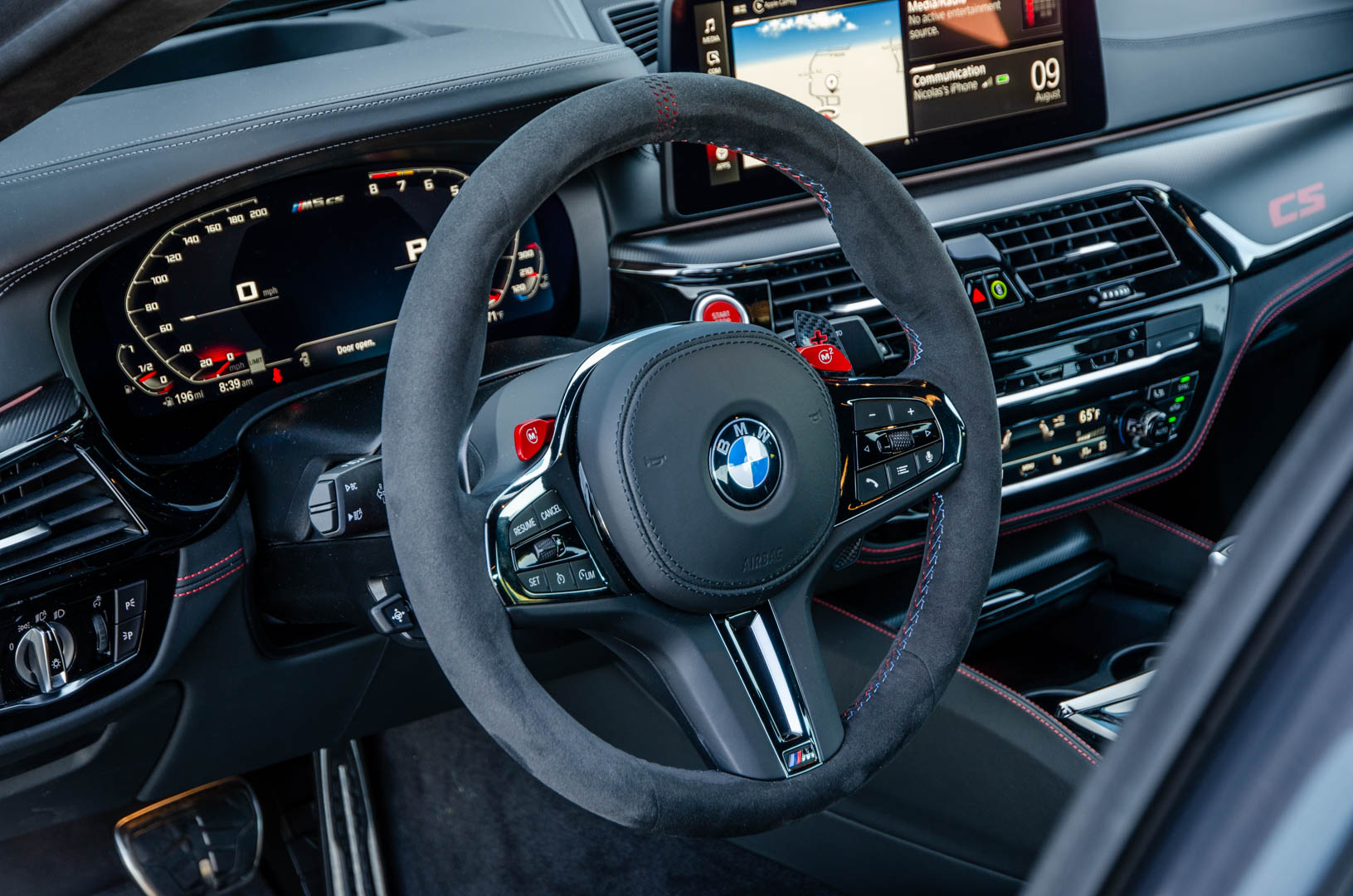 TEST DRIVE: BMW M5 CS — The M5 Goes Out with a Bang