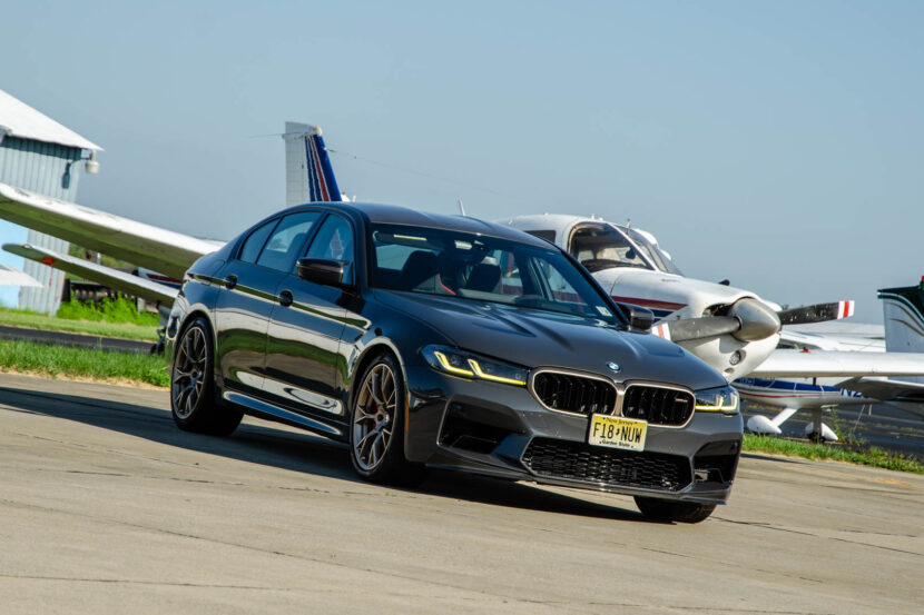 BMW M5 CS Test Drive 5 of 40 830x553