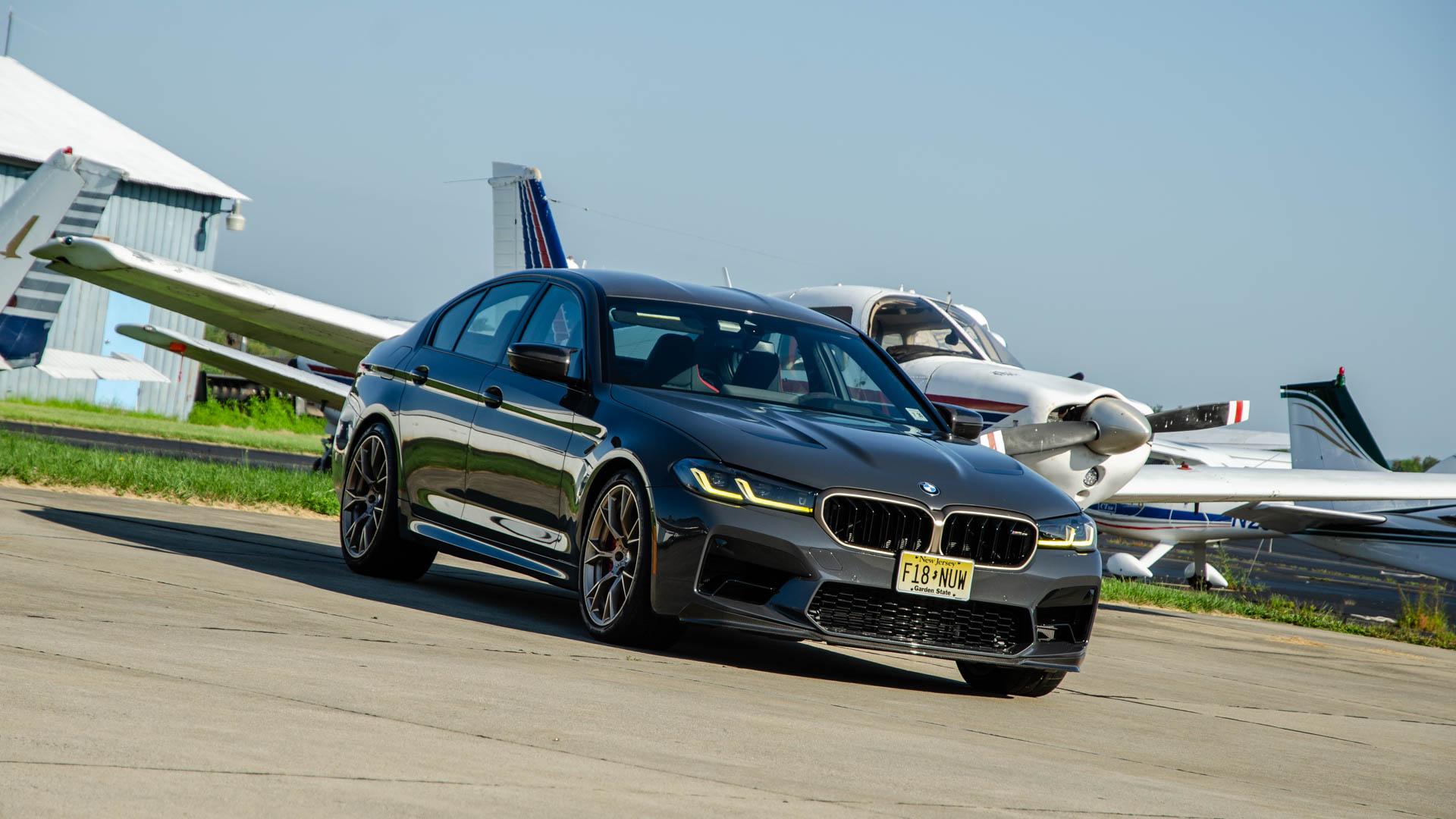 BMW M5 CS Test Drive 5 of 40
