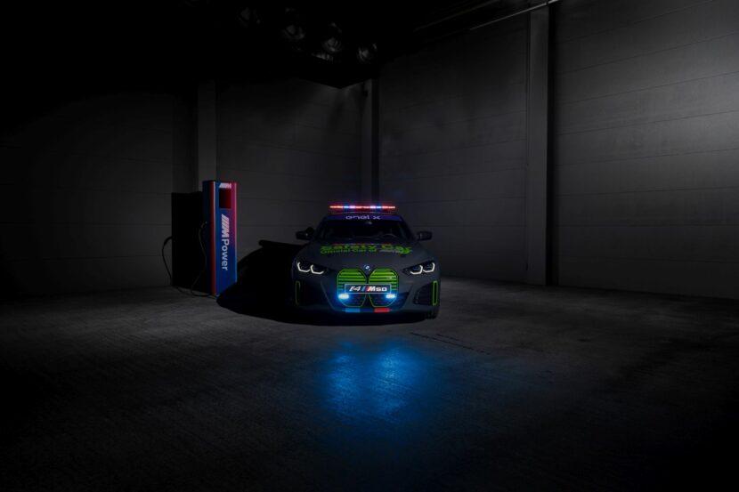 BMW i4 M50 Safety Car 3 830x553