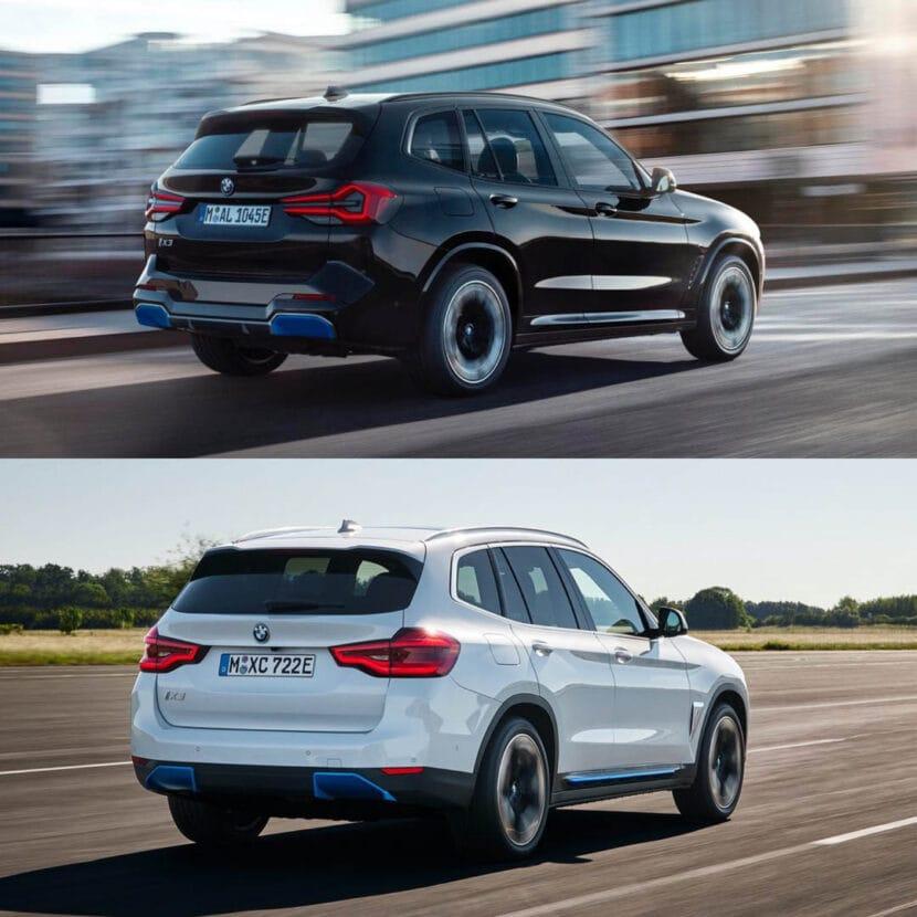BMW iX3 LCI vs BMW iX3 Pre LCI 1 of 4 830x830