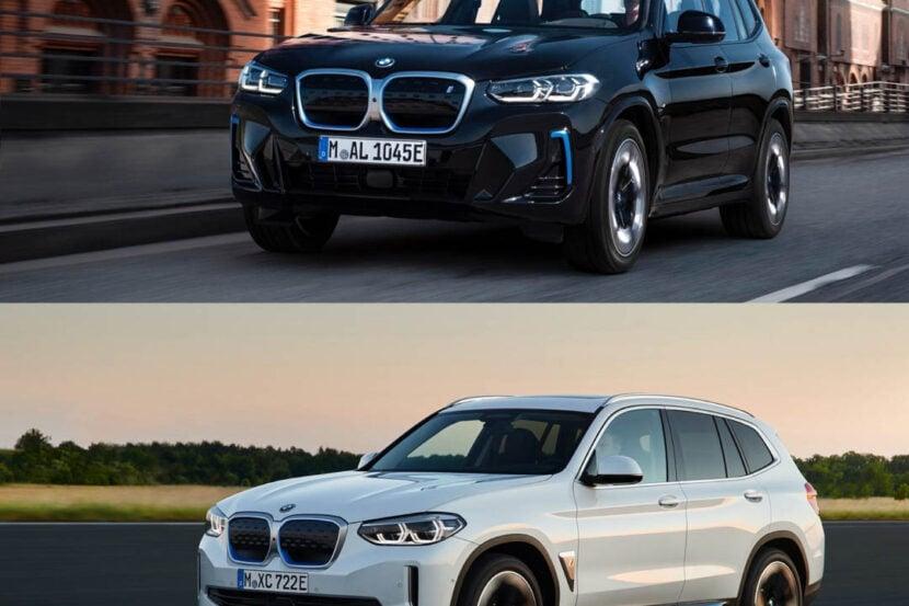BMW iX3 LCI vs BMW iX3 Pre LCI 2 of 4 830x553