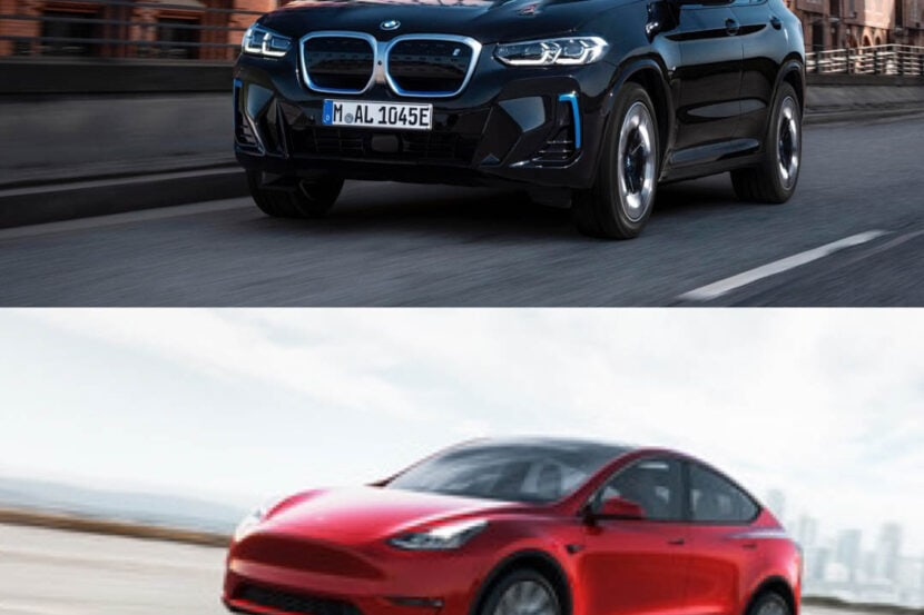 BMW iX3 LCI vs Tesla Model Y 3 of 4 830x553
