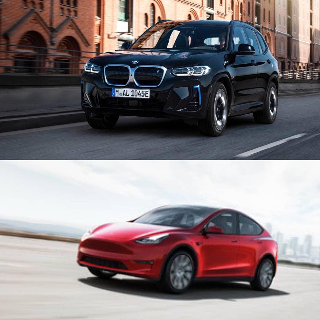 BMW iX3 LCI vs Tesla Model Y 3 of 4