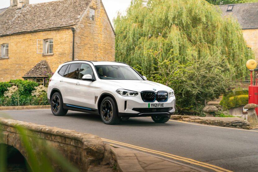 BMW iX3 UK 96 830x553