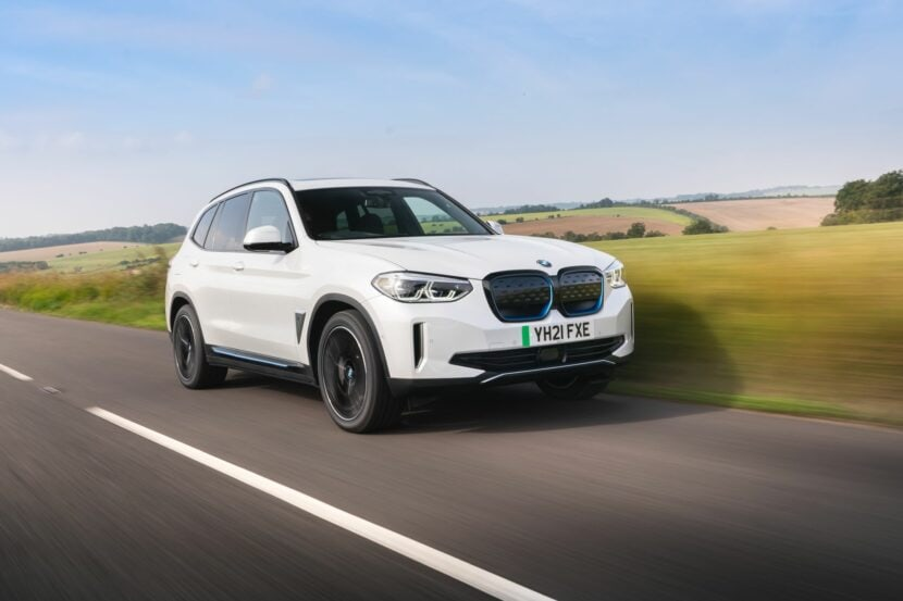BMW iX3 UK 99 830x553