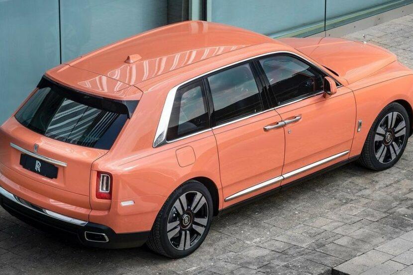 Dusty Coral Rolls Royce Cullinan 1 830x553