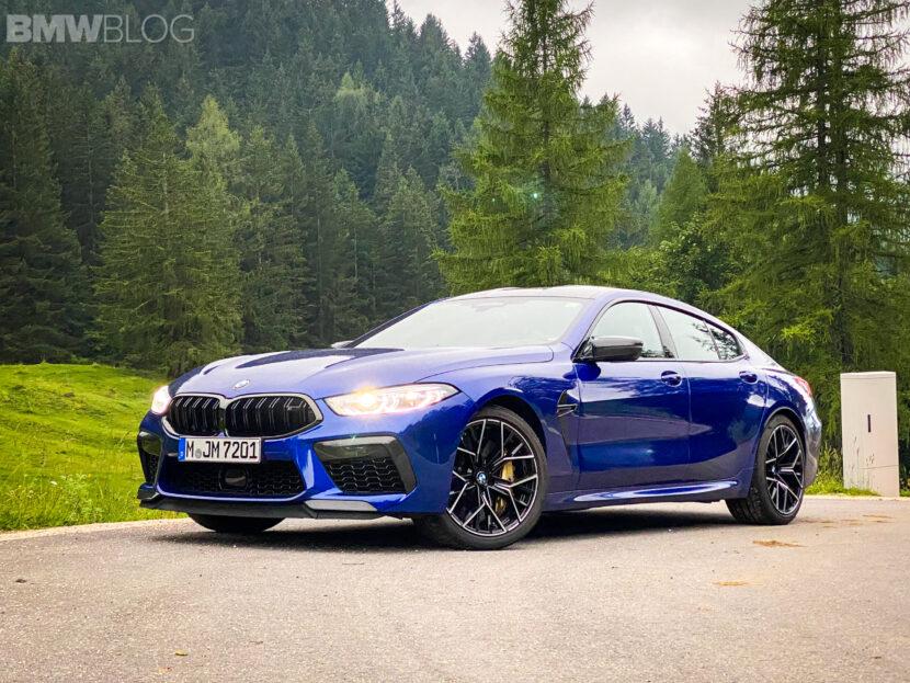 2023 bmw m8 gran coupe test Drive  15 830x623