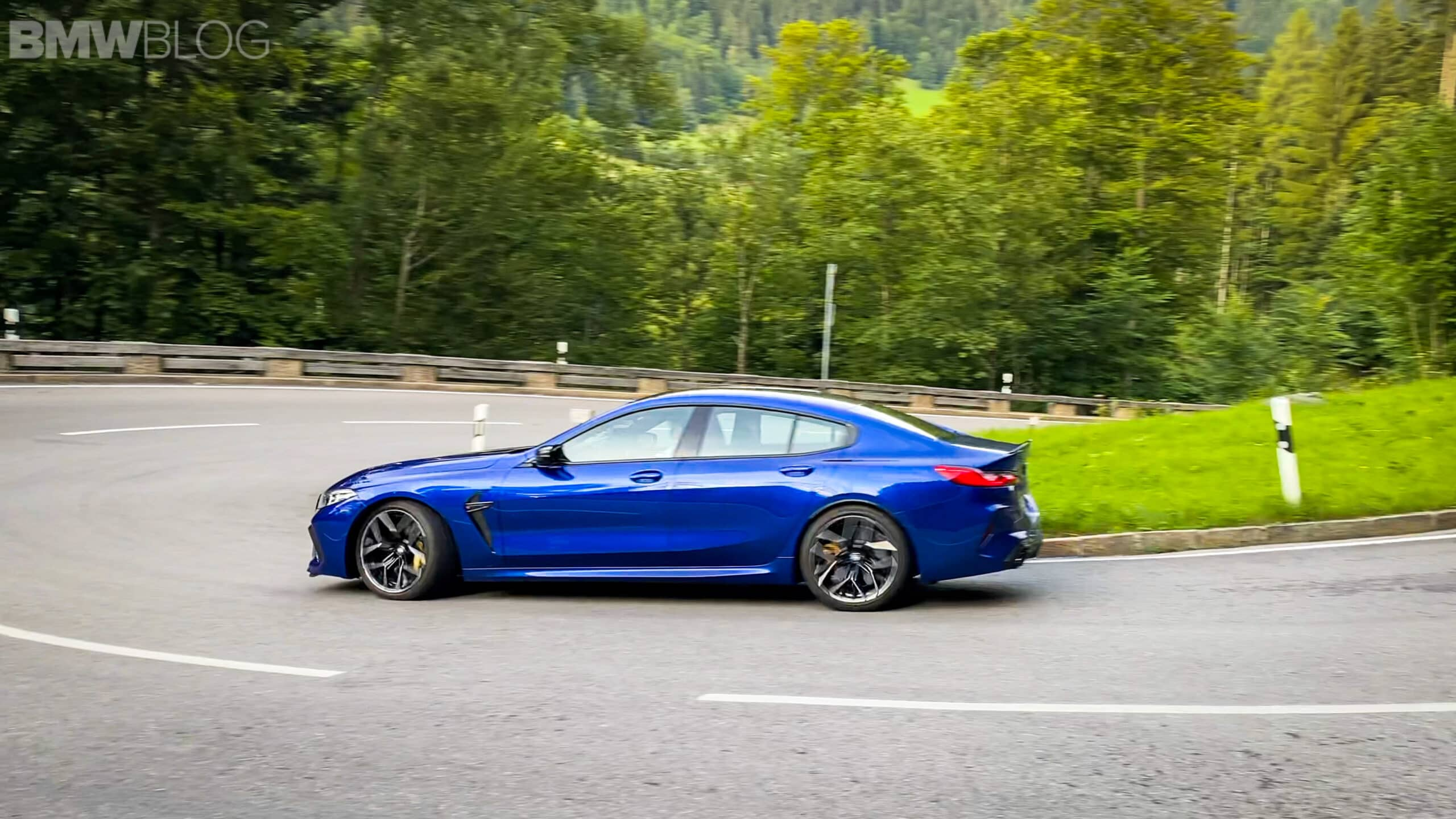 2023 bmw m8 gran coupe test Drive  23 scaled