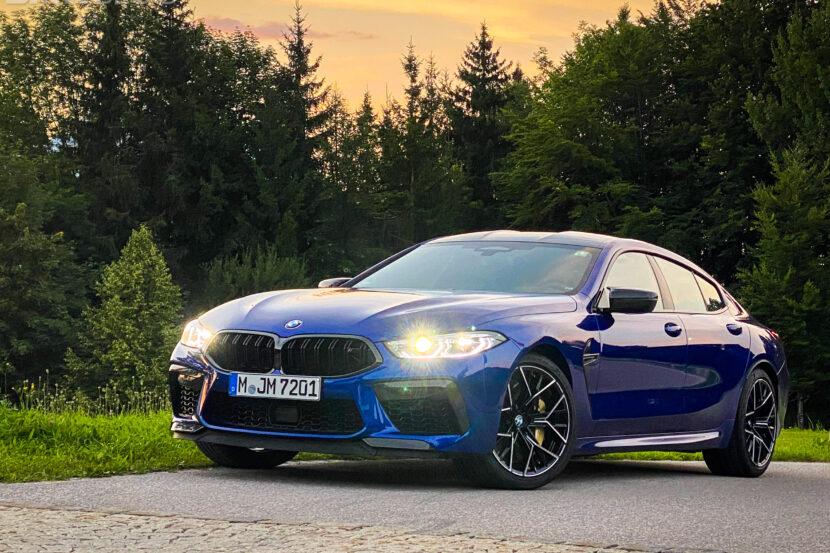 2023 bmw m8 gran coupe test Drive  5 830x553