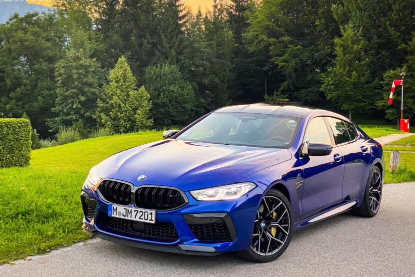 2023 bmw m8 gran coupe test Drive  6 830x553