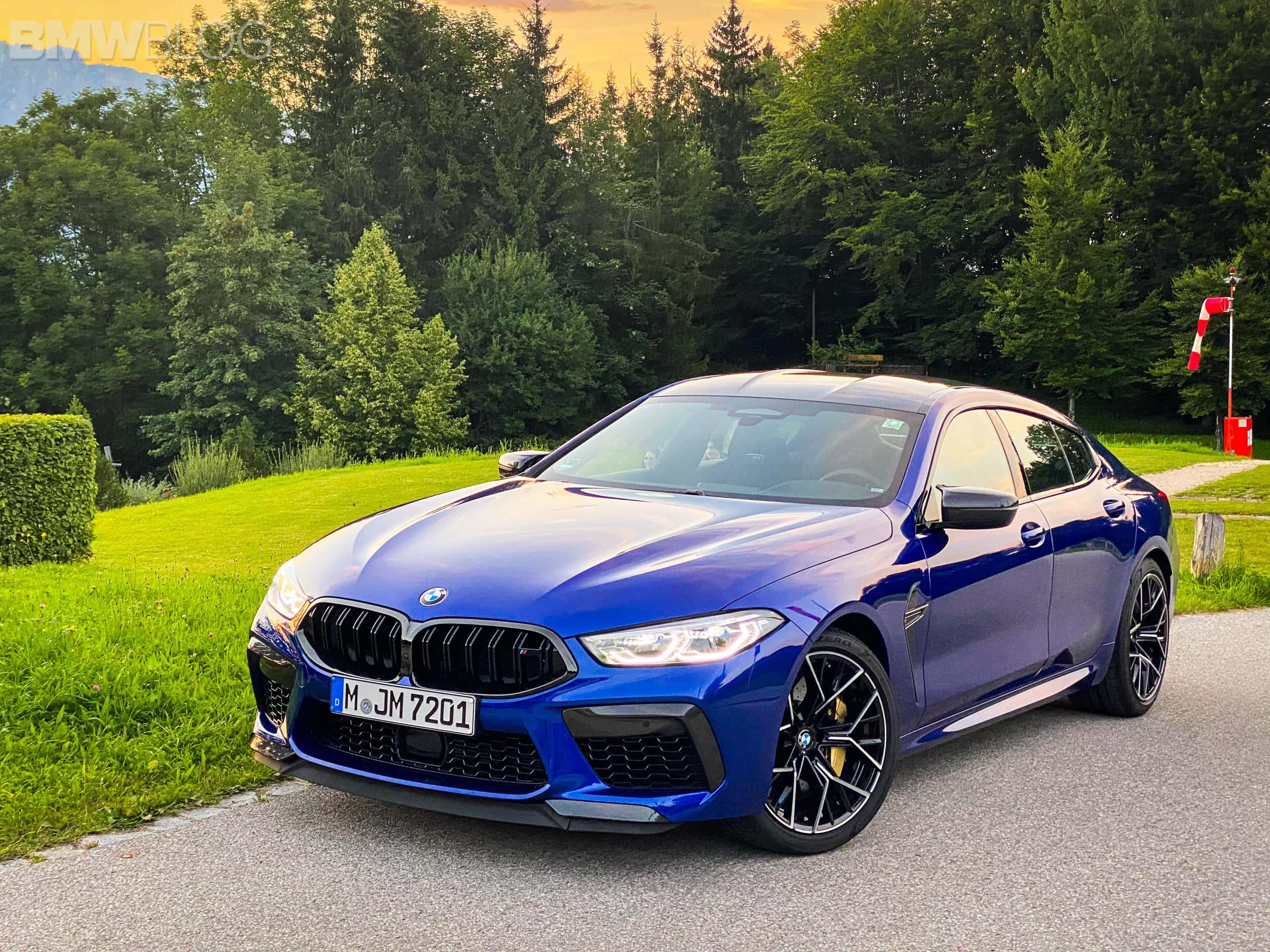 2023 bmw m8 gran coupe test Drive  6