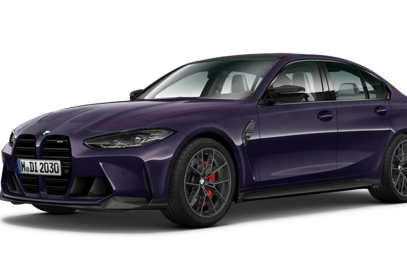 BMW M3 Competition Individual 830x553
