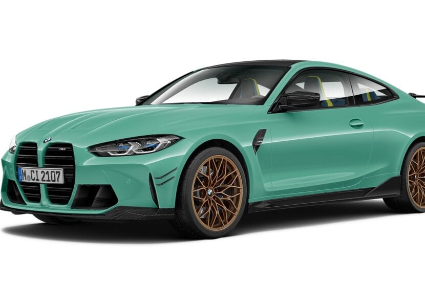 BMW M4 Competition Mint Green 830x553