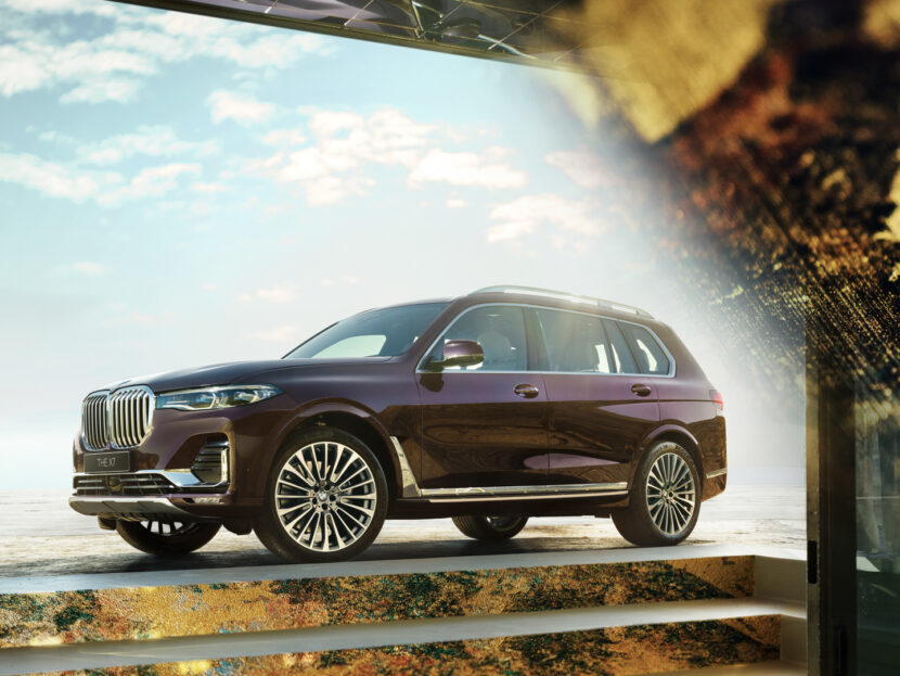 """Limited Edition BMW X7 """"Nishijin Edition"""" Launches in Japan"""