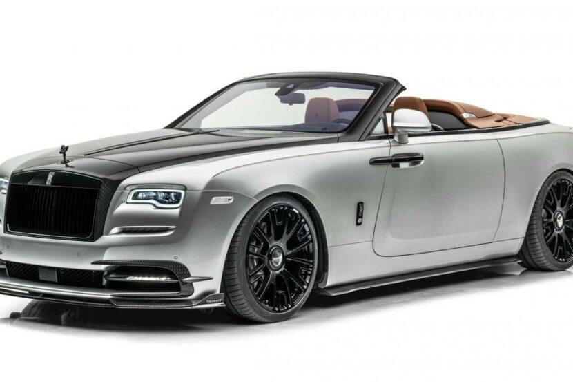 Mansory Rolls Royce Dawn Silver Bullet 2 830x553