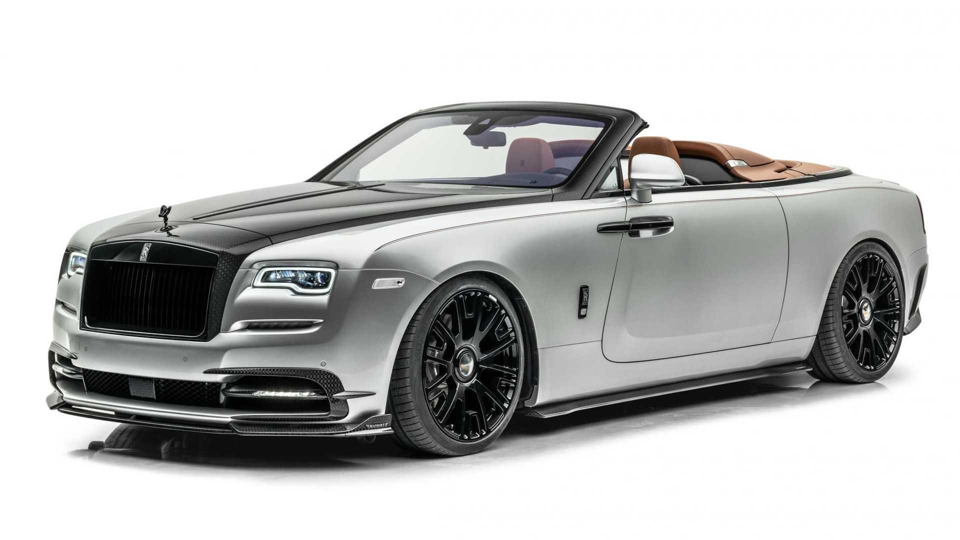 Mansory Rolls Royce Dawn Silver Bullet 2