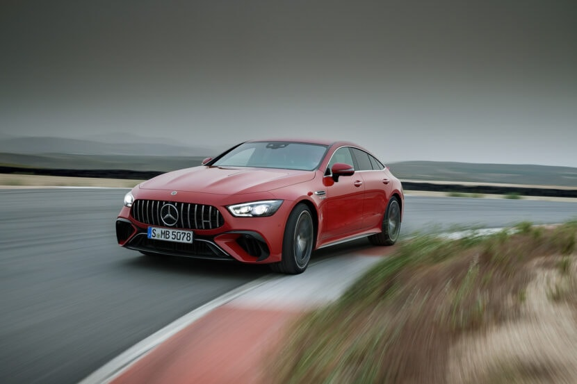 Mercedes AMG GT 63 S E Performance 3 of 4 830x553
