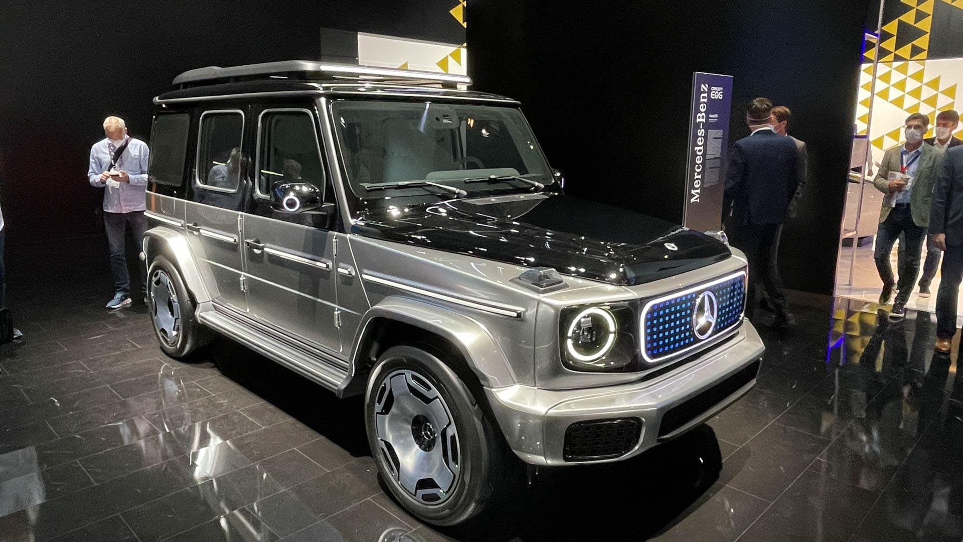 Mercedes Benz EQG 5 of 12