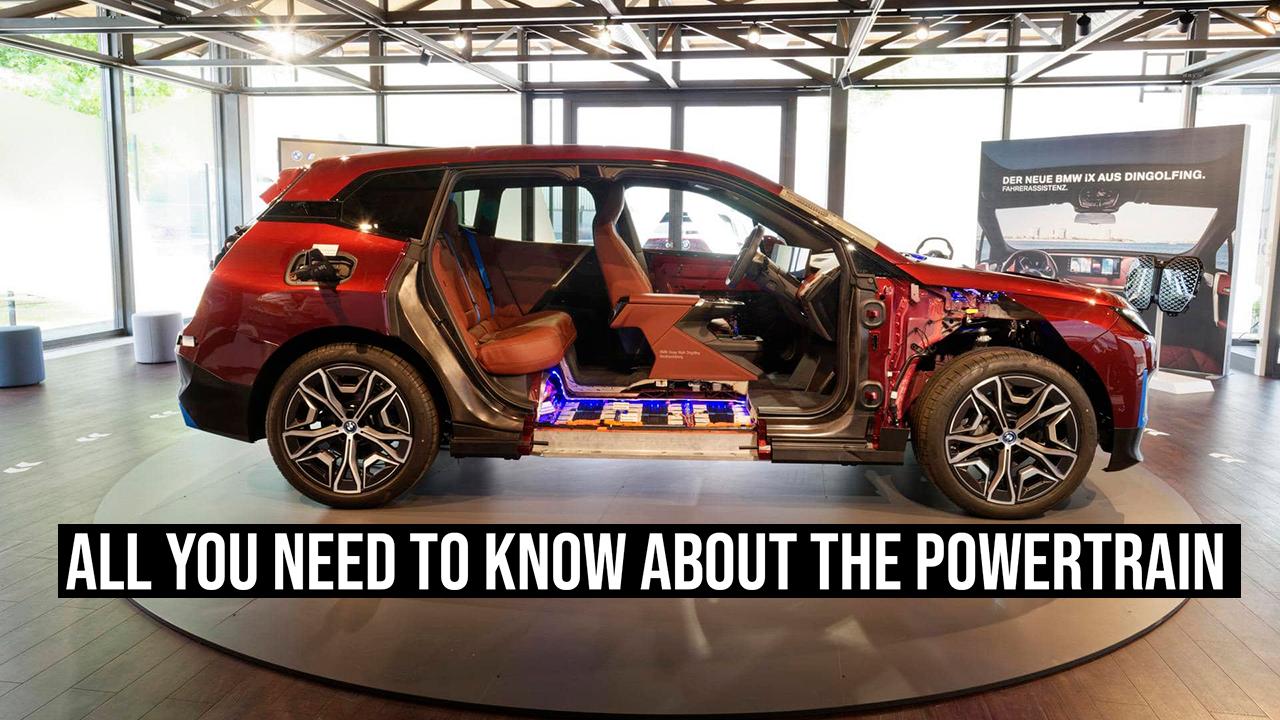 bmw ix powertrain