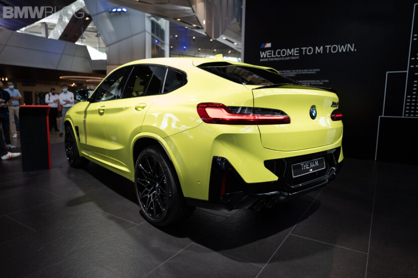 bmw x4m facelift sao paolo yellow  13 830x553