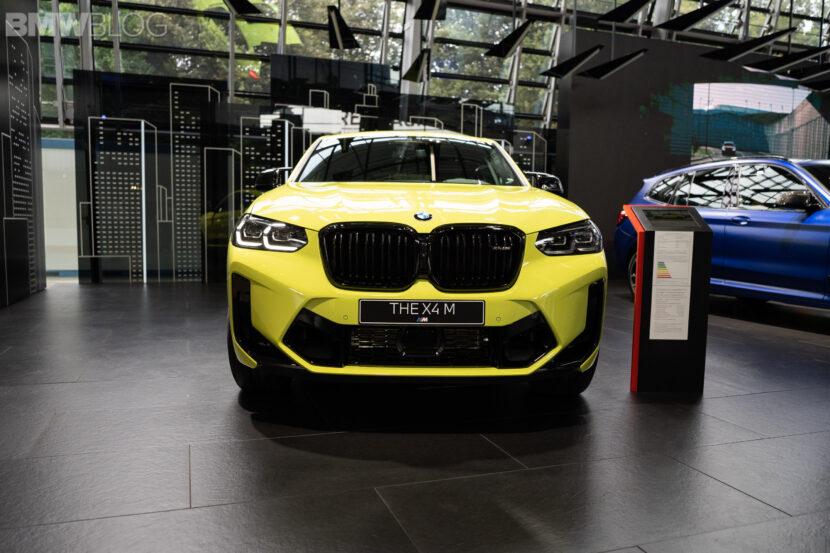 bmw x4m facelift sao paolo yellow  5 830x553